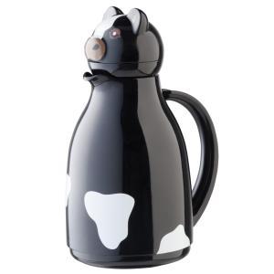 ヘリオス ポット 保温 helios サーモカウ ブラック ガラス卓上魔法瓶|eameschair-y