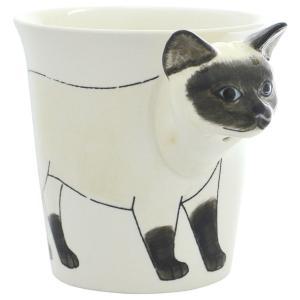 アニマルマグ シャミー ミーラープセラミック マグカップ マグ 285ml おしゃれ かわいい コップ 猫 ねこ ネコ|eameschair-y
