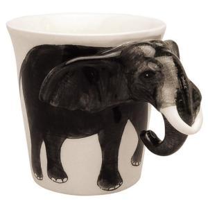 アニマルマグ エレファント ミーラープセラミック マグカップ マグ 285ml おしゃれ かわいい コップ 象 象さん ぞう ゾウ|eameschair-y