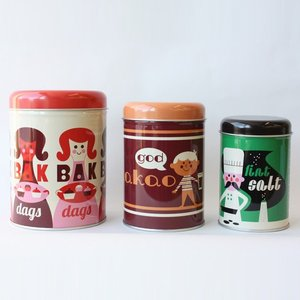 OMMデザイン OMM-design キャニスター ベーキング 入れ子 保存容器 Ingela P Arrhenius インゲラ・アリアニウス 北欧雑貨|eameschair-y