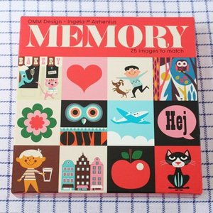 OMM-design メモリーゲーム スクエア おもちゃ|eameschair-y