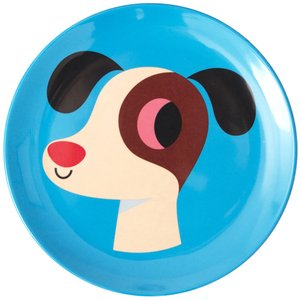 OMMデザイン メラミンプレート ドッグ Dog 犬 イヌ OMM-design Ingela P Arrhenius インゲラ・アリアニウス 皿 北欧雑貨|eameschair-y