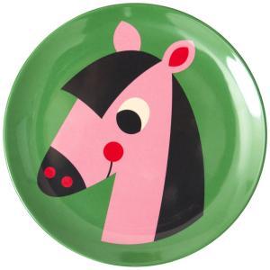 OMMデザイン メラミンプレート ホース Horse うま 馬  OMM-design Ingela P Arrhenius インゲラ・アリアニウス 皿 北欧雑貨|eameschair-y