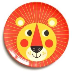 OMM-design メラミンプレート ライオン Lion お皿 北欧雑貨|eameschair-y