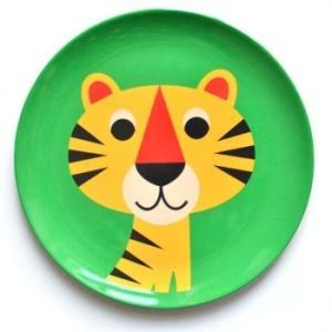 OMM-design メラミンプレート タイガー Tiger とら お皿 北欧雑貨|eameschair-y