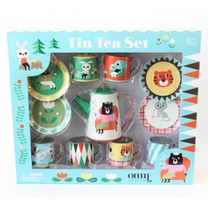 OMMデザイン OMM-design Tin Tea Set カフェオーナーなりきりセット Ingela P Arrhenius インゲラ・アリアニウス 北欧雑貨|eameschair-y