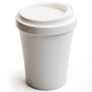 クオリー QUALY コーヒービン COFFEE BIN フタ付きゴミ箱 フロアー用 ホワイト おしゃれ ゴミ箱 ふた付き かわいい ごみ箱 蓋つき|eameschair-y