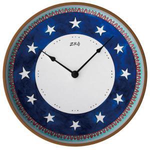 オリバー・ヘミング ZIRO ジロ ウォールクロック BLUE STARS ブルースターズ Oliver Hemming オシャレ 掛け時計 壁掛時計 eameschair-y