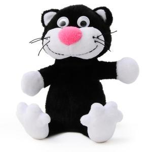 マイムフレンズ Mime Friends ブラック キティ 猫 子猫 かわいい ぬいぐるみ おもちゃ Black Kitty eameschair-y