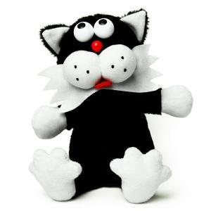 マイムフレンズ Mime Friends キャット ブラック ものまね ぬいぐるみ オウム返し ねこ ネコ クロネコ くろねこ 黒猫 かわいい おもちゃ Cat black eameschair-y