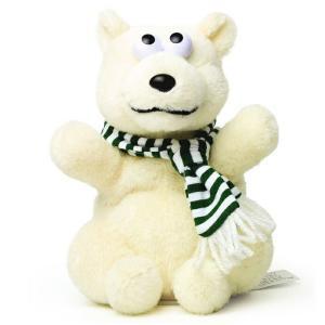 マイムフレンズ Mime Friends ポーラーベア ものまね ぬいぐるみ オウム返し しろくま シロクマ 白熊 ポーラーベアー かわいい おもちゃ Polar bear eameschair-y
