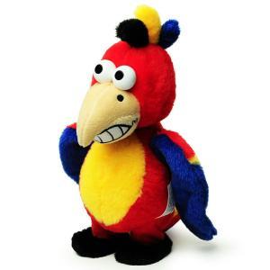 マイムフレンズ Mime Friends ウォーキング パロット 歩くオウム ものまね ぬいぐるみ オウム返し 鳥 とり かわいい おもちゃ Walkingparrot eameschair-y