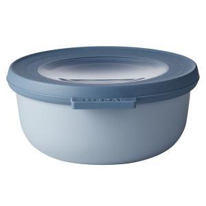 ロスティ メパル サーキュラ 保存容器 マルチ ボウル 350ml ノルディック ブルー  おしゃれ かわいい ほぼ密閉 冷凍 レンジ対応 電子レンジ 冷蔵 食洗機|eameschair-y
