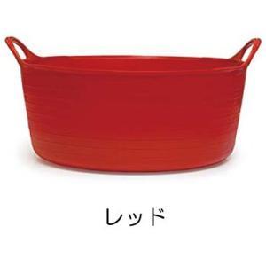 タブトラッグス ミニシャロー TUBTRUGS ミニシャロウ レッド 赤 バケツ おしゃれ 洗い桶 キッチン洗い桶 FAULKS&COX|eameschair-y
