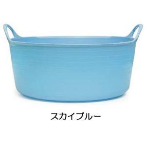 タブトラッグス ミニシャロー TUBTRUGS ミニシャロウ スカイブルー バケツ おしゃれ 洗い桶 キッチン洗い桶 FAULKS&COX|eameschair-y