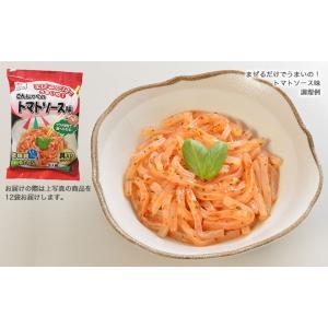 まぜるだけでうまいの! こんにゃくのトマトソース味 12袋セット|earth-shop