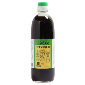 かめびし醤油 にがり入りうすくち醤油 500ml|earth-shop