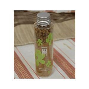 かめびし醤油 ソイソルト(粉しょうゆ、粉末醤油)青唐辛子&にんにくタイプ 50g クリアボトル入り|earth-shop