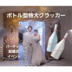 特大クラッカー ボトル型 業務用 大型クラッカー ビッグサイズ ウエディング 結婚式 パーティー earth-shop