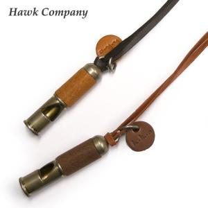 ホークカンパニー HAWK COMPANY チョーカー レザー ホイッスル ネックレス 5183