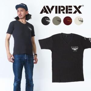 """商品番号:""""avi6183430""""AVIREXからPACEMAKERS Tシャツの登場。  刺繍とワ..."""