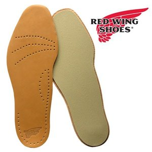 REDWING レッドウィング 純正インソール 薄手 牛革 LEATHER FOOTBED レザー・...