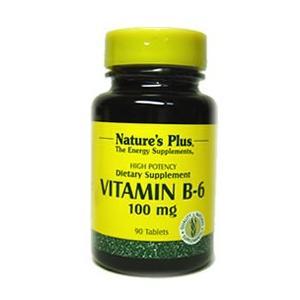 ビタミンB6 100mg (ピリドキシン) ネイチャーズプラス/サプリメント|earthpure