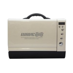 WAVE BOX [ ウェーブボックス ] ポータブル電子レンジ 白 WHITE wavebox-WH