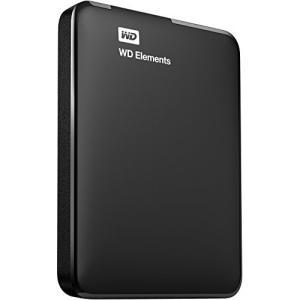 WD HDD ポータブル ハードディスク 2TB USB3.0 TV録画対応 WD Elements Portable WDBU6Y0020BBK-EESN / 3年保証