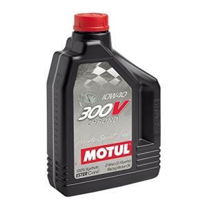 MOTUL(モチュール)300V CHRONO(300V  クロノ) 10W40 100%化学合成 (エステルコア)エンジンオイル 2L[正規品] 11107841