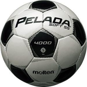 molten(モルテン) ペレーダ4500 [ Pelada4500 ] EXCELLENT DURABILITY 5号球 ソフトSS 白+黒 F5P4005