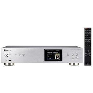 Pioneer ネットワークオーディオプレーヤー ハイレゾ音源対応 シルバー N-50A