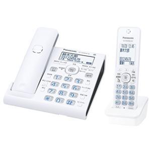 パナソニック デジタルコードレス電話機 子機1台付き スマホ連動 Wi-Fi搭載 VE-GDW54DL-W