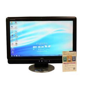 富士通 デスクトップパソコン 中古パソコン F/E70T ブラック デスクトップ 一体型 本体 Windows7 Core 2 Duo ブルーレイ 地デジ 4GB/500GB(中古)|earthward|02