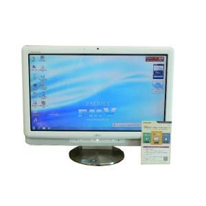 富士通 デスクトップパソコン 中古パソコン F/E70T ホワイト タッチパネル デスクトップ 一体型 本体 Windows7 Core 2 Duo ブルーレイ 地デジ 4GB/500GB 送料無 earthward 02