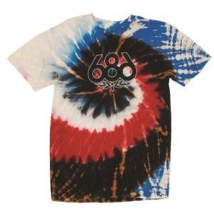 686 TRIPPIN S/S Tシャツ Black Tie-Dye MEN'S スノーボード タイダイ  ゲキレア