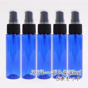 スプレー プラスチック(青色) 30ml 5本セット