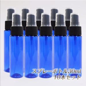 スプレー プラスチック(青色) 30ml 10本セット