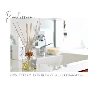 リードディフューザー 自然派アロマ 100%植物性成分 ガラスボトル 選べる香り&スティック(オイル90ml  リード3mm×10)説明書有 mobilier(モビリエ) ease-aroma 16
