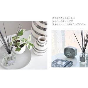 リードディフューザー 自然派アロマ 100%植物性成分 ガラスボトル 選べる香り&スティック(オイル90ml  リード3mm×10)説明書有 mobilier(モビリエ) ease-aroma 10