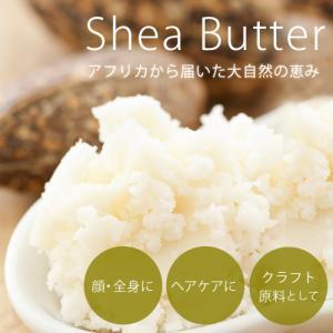 シアバター(精製) 100g スキンケア ヘアケア マッサージ ボディバター|ease-aroma