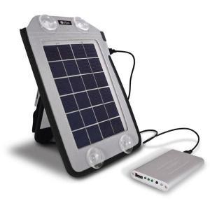 バック取付式 ソーラーチャージャーセット 【 ソーラー 充電器 】|ease-style