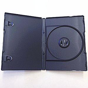 CD/DVD対応 トールケース 10個セット (ブラック)|ease-style