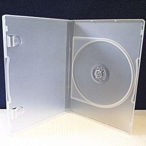 CD/DVD対応 トールケース 10個セット (スケルトン)|ease-style