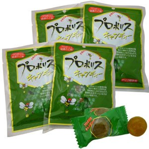 プロポリスキャンディー 100g×4袋|ease-style