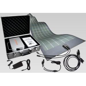 ポータブル フレキシブル ソーラー 蓄電 セット (ポータブル: 発電 90W 出力 400W) 【 充電 フレキシブル CIGS薄膜型 】|ease-style|04