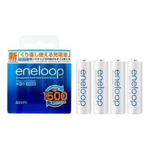 エネループ 単三形 4個入りパック (1500回使える電池)|ease-style