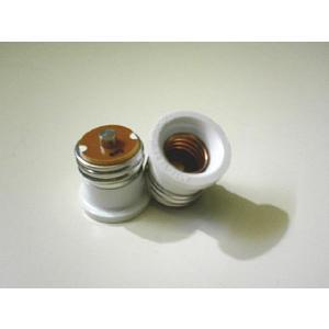 口金変換プラグ 超ぴか LED電球 AC100V 【電球E17 => 電源E26 変換】 2個|ease-style
