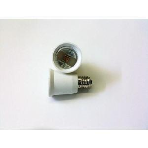 口金変換プラグ 超ぴか LED電球 AC100V 【電球E26 => 電源E17 変換】 2個|ease-style
