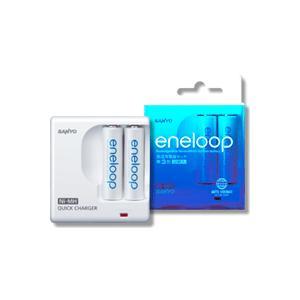 エネループ 単三形2個付急速充電器セット|ease-style